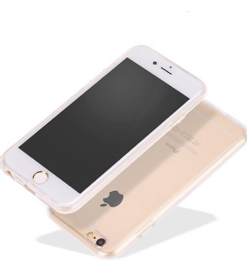 295 360度全面保護 TPUソフト iPhoneカバー
