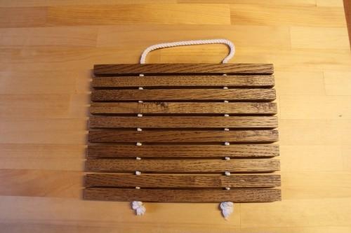 《A》木製鍋敷き
