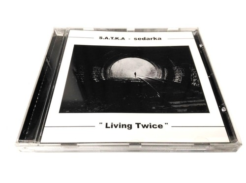 [USED] S.A.T.K.A / Sedarka - Living Twice (2001) [CD]