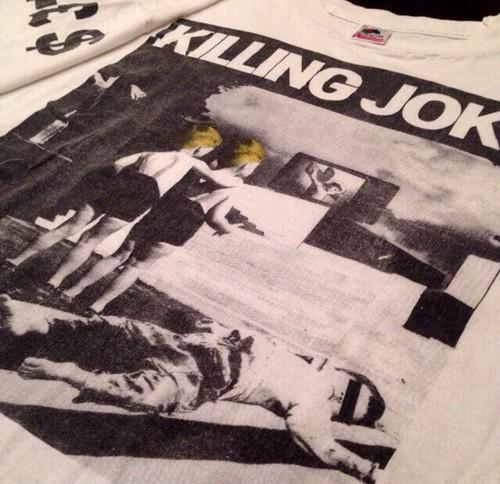Vintage 90s KILLING JOKE (キリングジョーク) Tシャツ