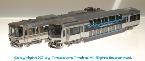 JR 223-5000系・5000系近郊電車(マリンライナー)セットA(TOMIX製#98259)