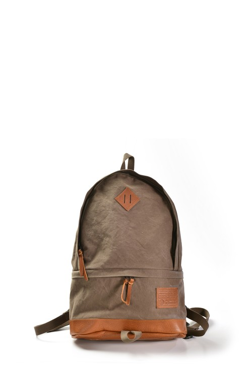 Back pack α Leather