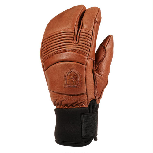 HESTRA GLOVE ヘストラ グローブ 31472 FALL LINE 3-FINGER 750 BROWN
