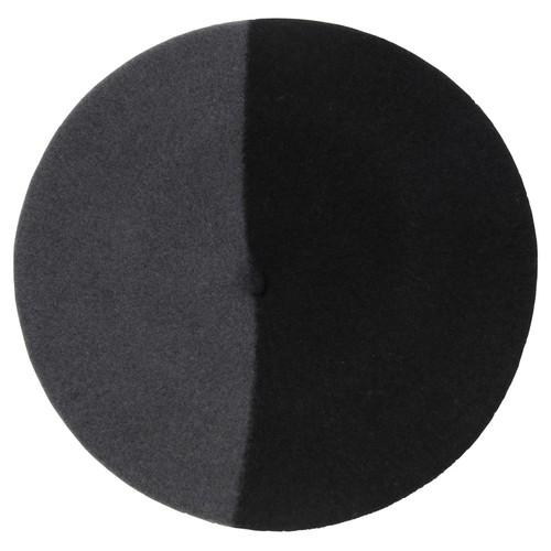 バスク帽 BLACK/GRAY(サイズ15) TDB-07