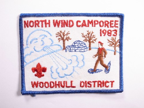 """OLD PATCH""""NORT WIND CAMPOREE 1983"""""""