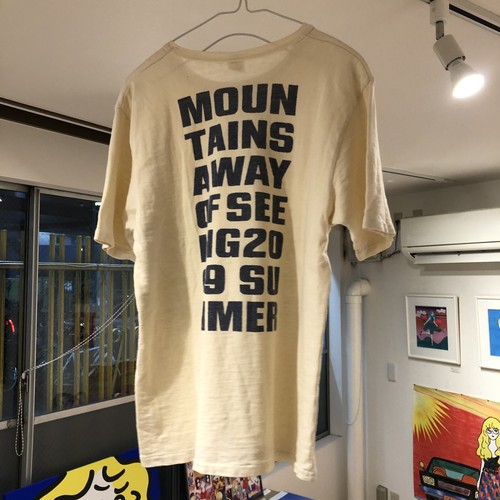 Mountains a way of seeing Tシャツ / ホンマタカシ