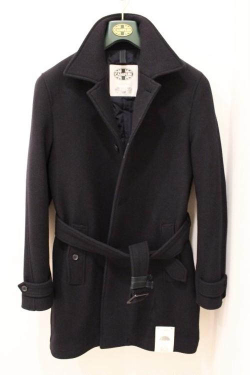 Camplin Belted Bal Collar Coat