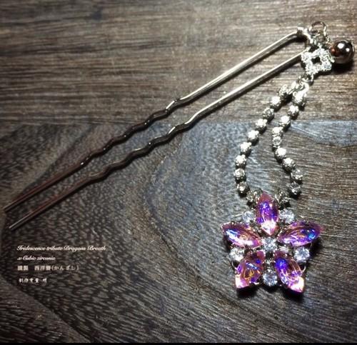 itドラゴンズブレス桜の西洋簪(かんざし)