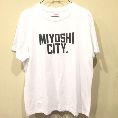 MIYOSHI CITY 半袖クルーネックTシャツ