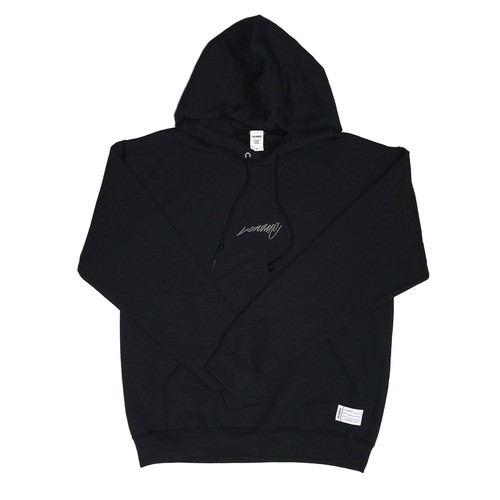 Good Old Day's Hoodie / BLACK