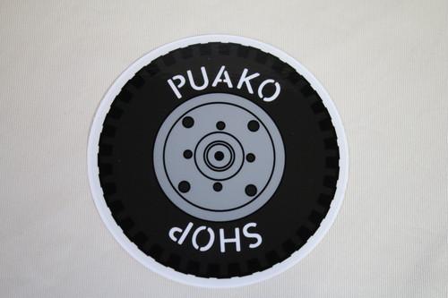 タイヤステッカー large 【PUAKO SHOP】