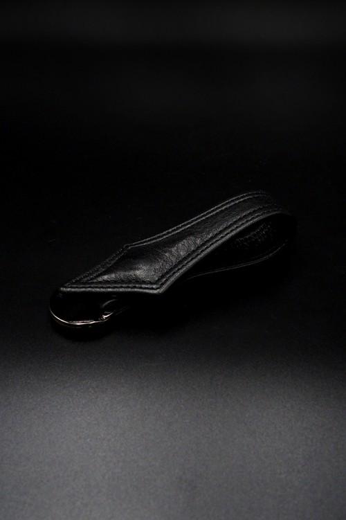 Item No.0370: Rizard tail Key Holder /Original Leather BK