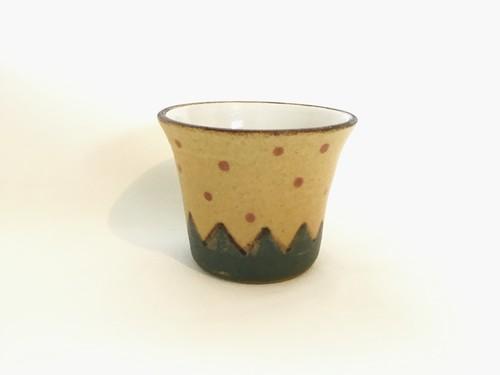 陶器 豆カップ(工房ことりの)