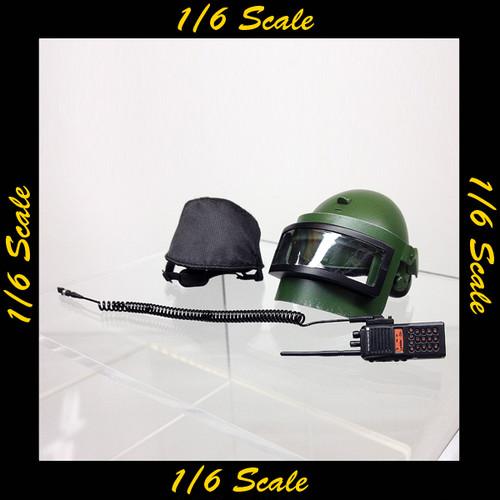 【01267】 1/6 DAMToys スペツナズ ベスラン ヘルメット