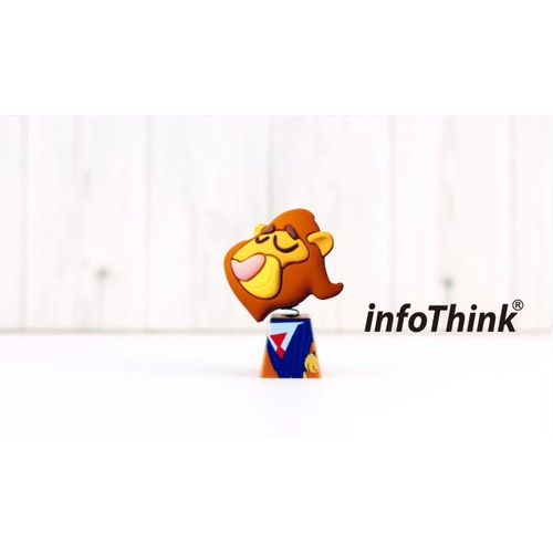 InfoThink USBメモリ Disney ズートピア USBフラッシュドライブ 16GB レオドア・ライオンハート市長