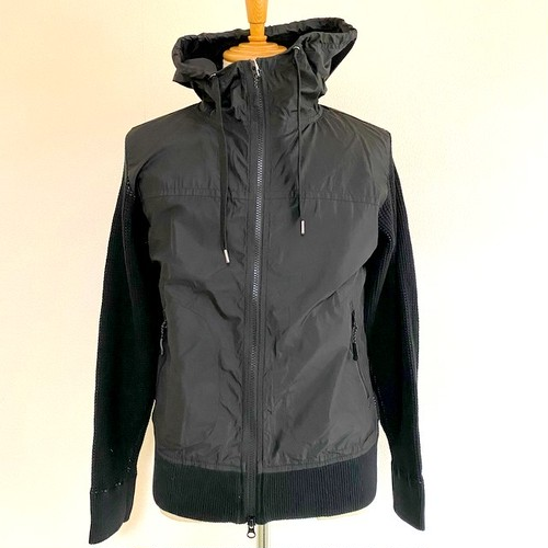 Cool Max Waffle Switch Hoodie Jacket Black