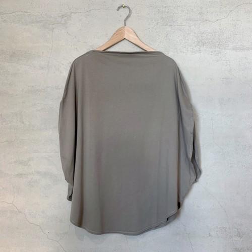 【COSMIC WONDER】Organic cotton circle T-shirt/10CW02051-1