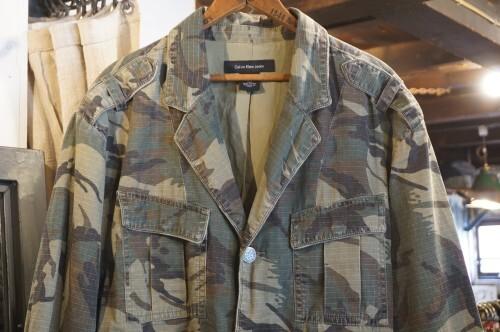 Calvin Klein Jeans camouflage 3-button Jacket