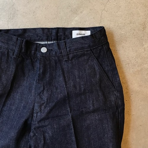 SINME WIDE DENIM PANTS 再入荷