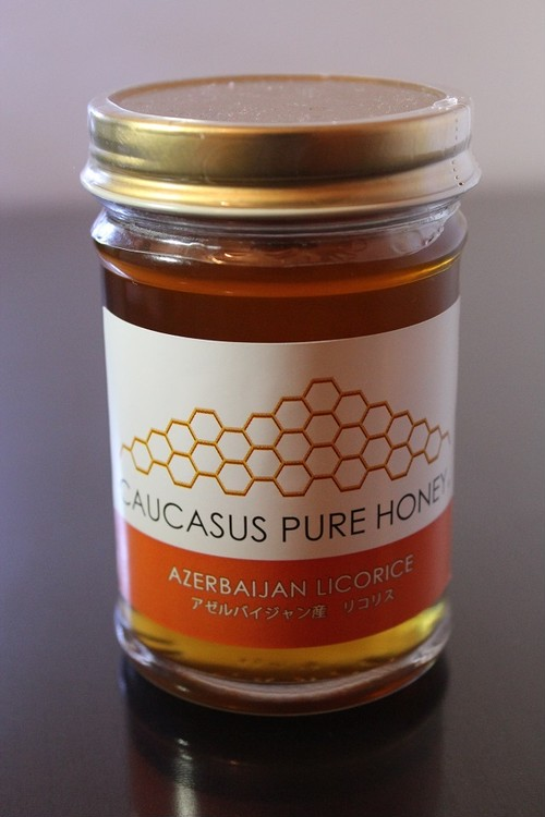 CAUCASUS PURE HONEY (LICORICE HONEY ~リコリス蜂蜜~)