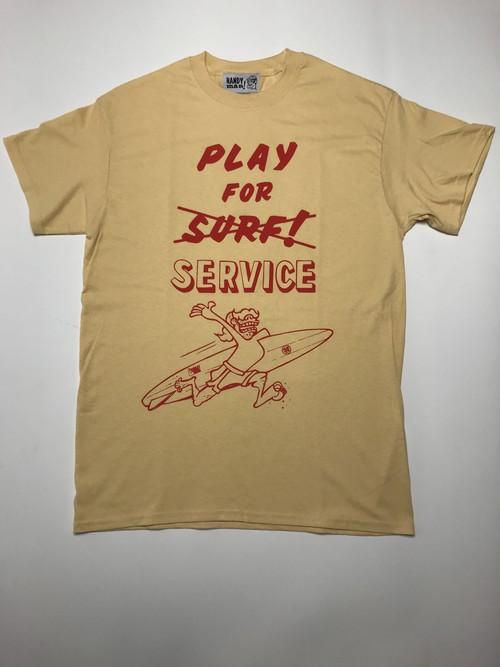 play for surf  tshirt VG