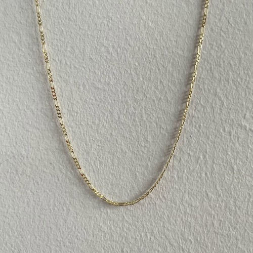 【14K-3-33】18inch 14K real gold chain necklace