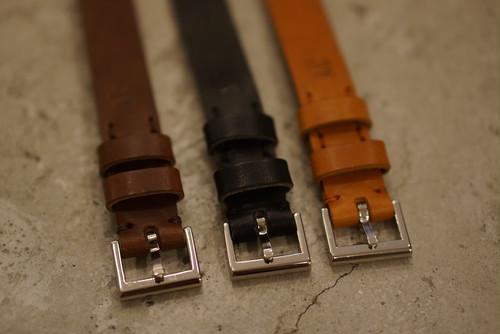 【再入荷】AT THE CONNER / Leather Watch Belt