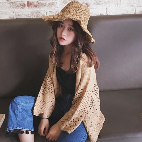 【即納】solid summer cardigan 1350