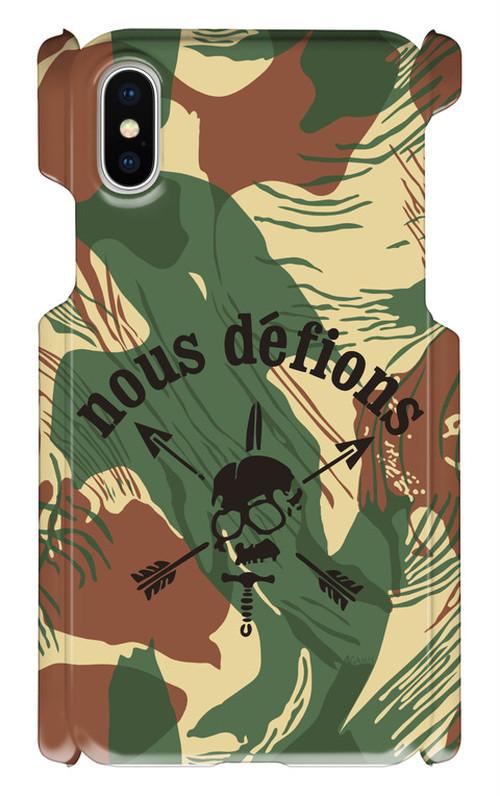 USASOC Nous defions iPhone X用  スマホケース/スマホカバー