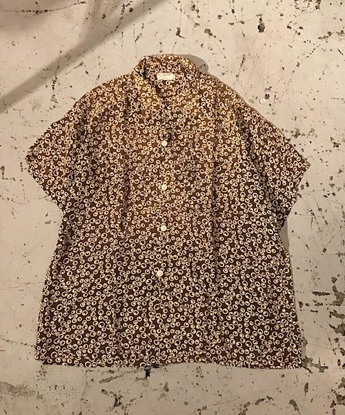 50's arrow rayon S/S shirts XL (UT-808)