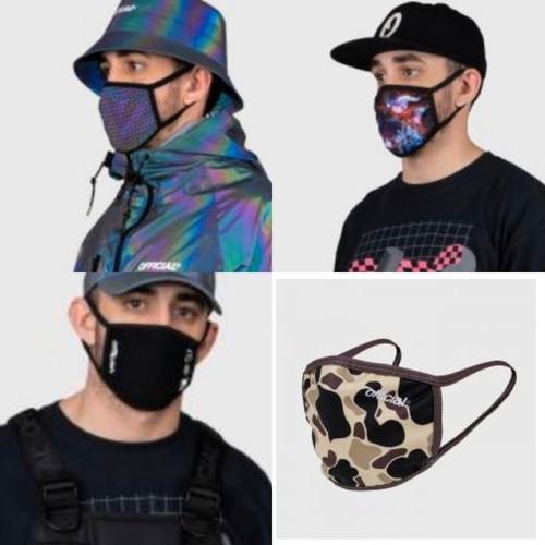 OFFICIAL(オフィシャル)Face Mask おしゃれマスク