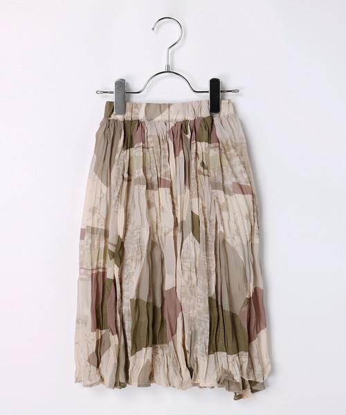ジオメトリーシュリンク加工スカート130