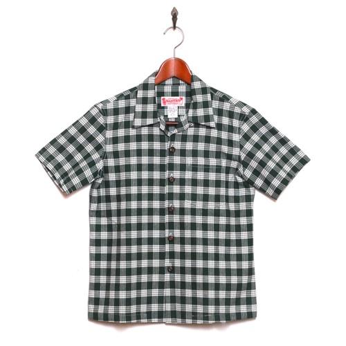 Mountain レディース&ボーイズ / パラカシャツ / フォレストグリーン