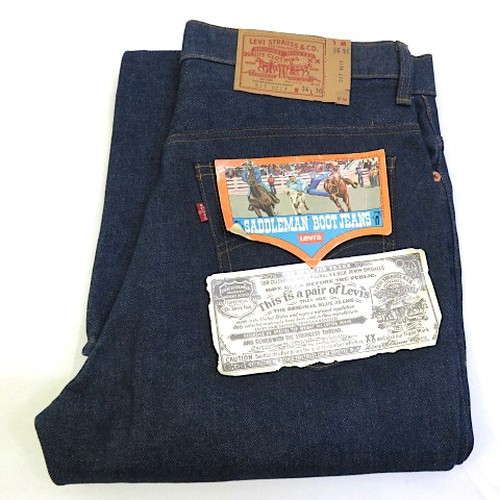Dead Stock LEVI'S 517 Single Stitch 66 Model 1970's~