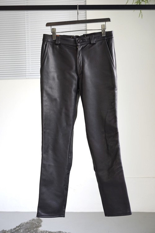 <SOLD OUT>French Vintage - Deerskin Leather Pants