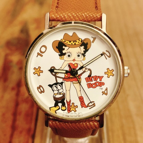 Betty Boop 90's Valdawn Cow Girl ウォッチ