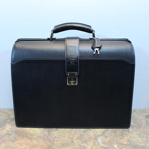 .BURBERRY LEATHER DULLES BAG/バーバリーレザーダレスバッグ(ビジネスバッグ) 2000000032245