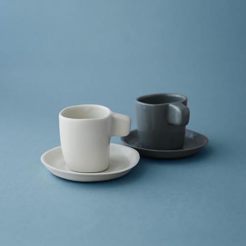 MARGARIDA FABRICA Espresso cup +saucer