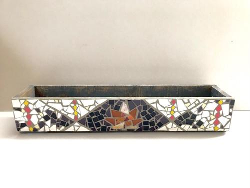 モザイクタイル シャビーウッドボックス MOMIJI