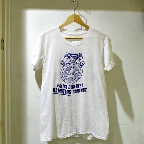 1970-80s 両面プリント GOOD Tシャツ / VOTE TEAMSTERS