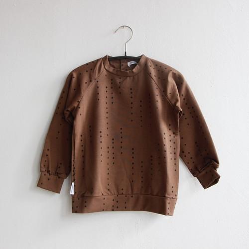《MINGO. 2021AW》Long sleeve / Dewdrops Burnished Leather