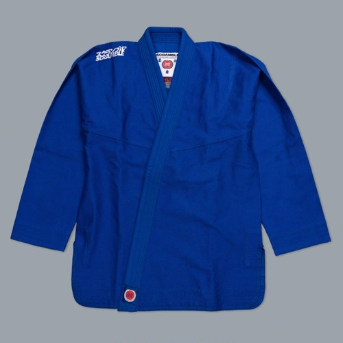 予約注文受付中です!!!  SCRAMBLE ATHLITE ブルー ブラジリアン柔術衣