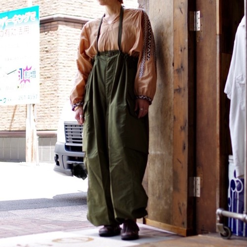 New Old Stock !! CANADIAN ARMY ECW WINDPROOF Over Pants / デッドストック カナダ軍 オーバーパンツ