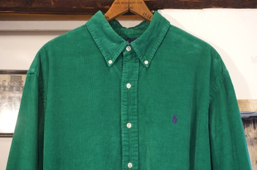 90's Ralph Lauren forest-green corduroy Shirt