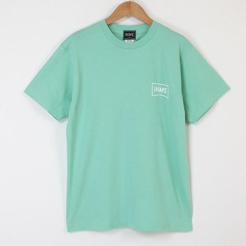 INME_T02 シンプルロゴTシャツ(ミント)