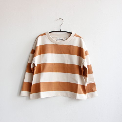 《main story 2020AW》Long Sleeve Tee / birch stripe