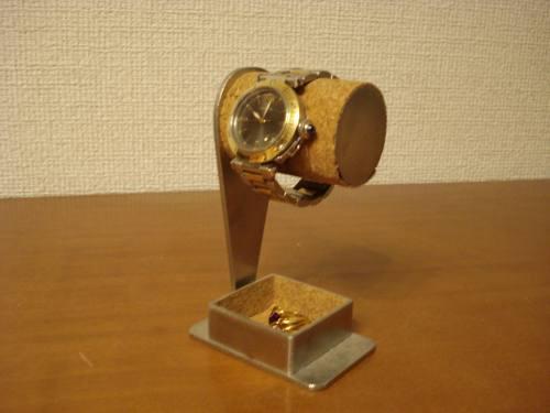 彼氏の誕生日プレゼントに 1本掛けデザイントレイ付き腕時計スタンド  ak-design No.120111