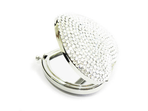 SUGAR Heart Mirror Silver