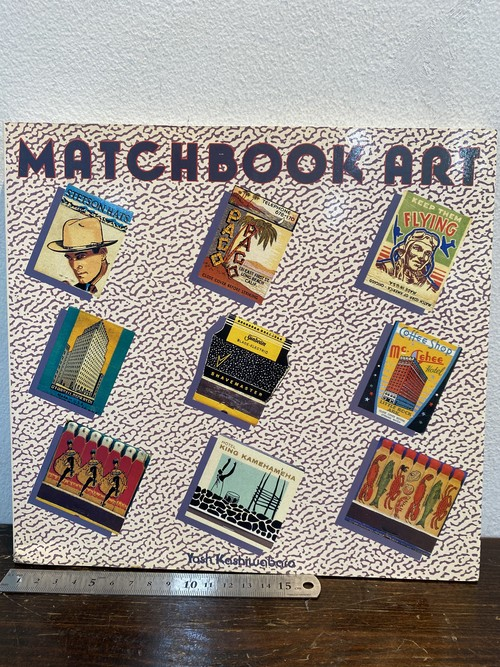 80's  洋書 MATCHBOOK ART