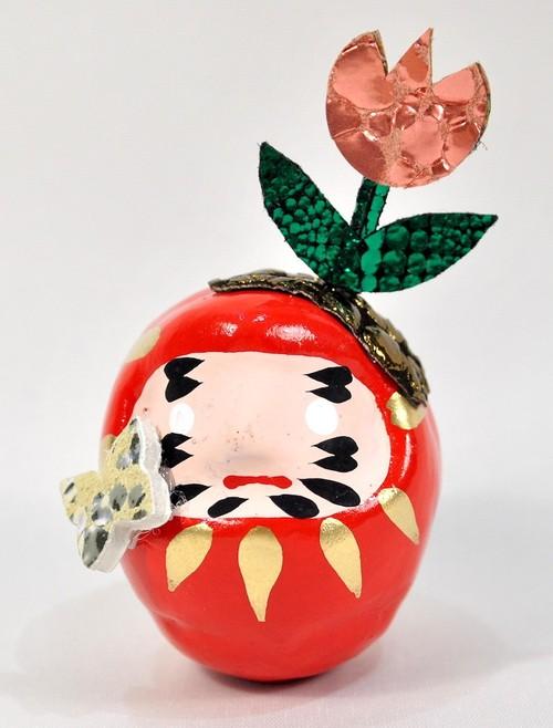 OMNESだるま 春バージョン TULIP(RED)